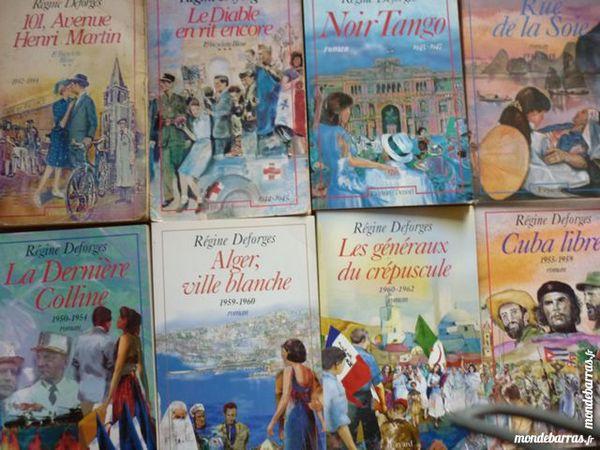 Série de 8 romans de Régine Desforges 5 Roissy-en-Brie (77)
