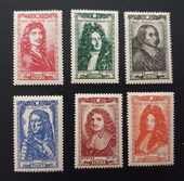 Série 612 à 617  timbres avec charnières 1 Joué-lès-Tours (37)
