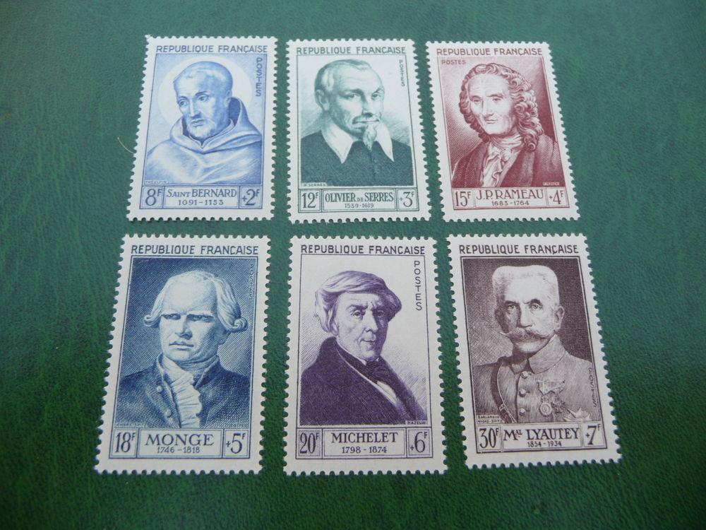 serie timbres de france n 945 a 950 neufs*