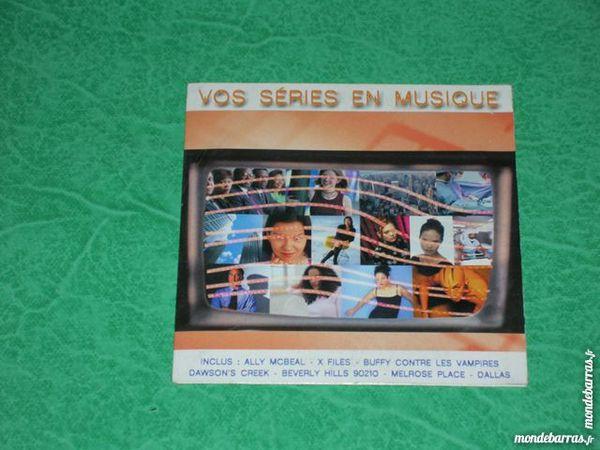 Cd « vos series en musique » 2 Saleilles (66)
