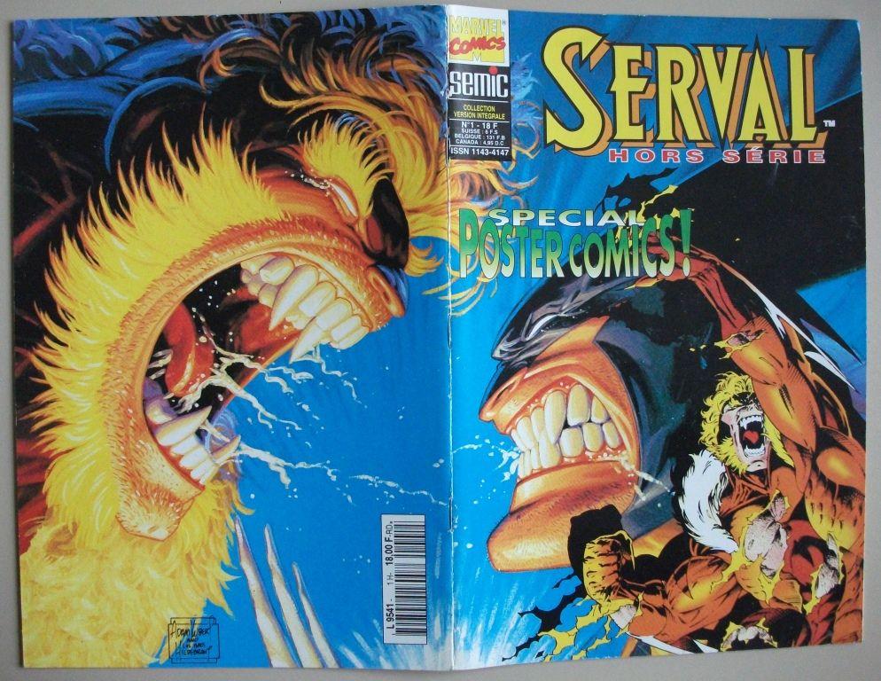 B.D. Serval {Wolverine} Hors-série  [SEMIC 1996] 15 Castelnaudary (11)