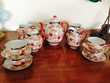 Service à thé ou café ancien porcelaine fine Japon Décoration