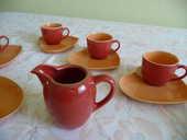 Service à café expresso neuf porcelaine Yves DESHOULIERES 13 Poitiers (86)