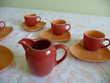 Service à café expresso neuf porcelaine Yves DESHOULIERES