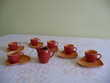 Service à café expresso neuf porcelaine Yves DESHOULIERES Décoration
