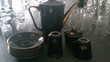 service à café noir Décoration
