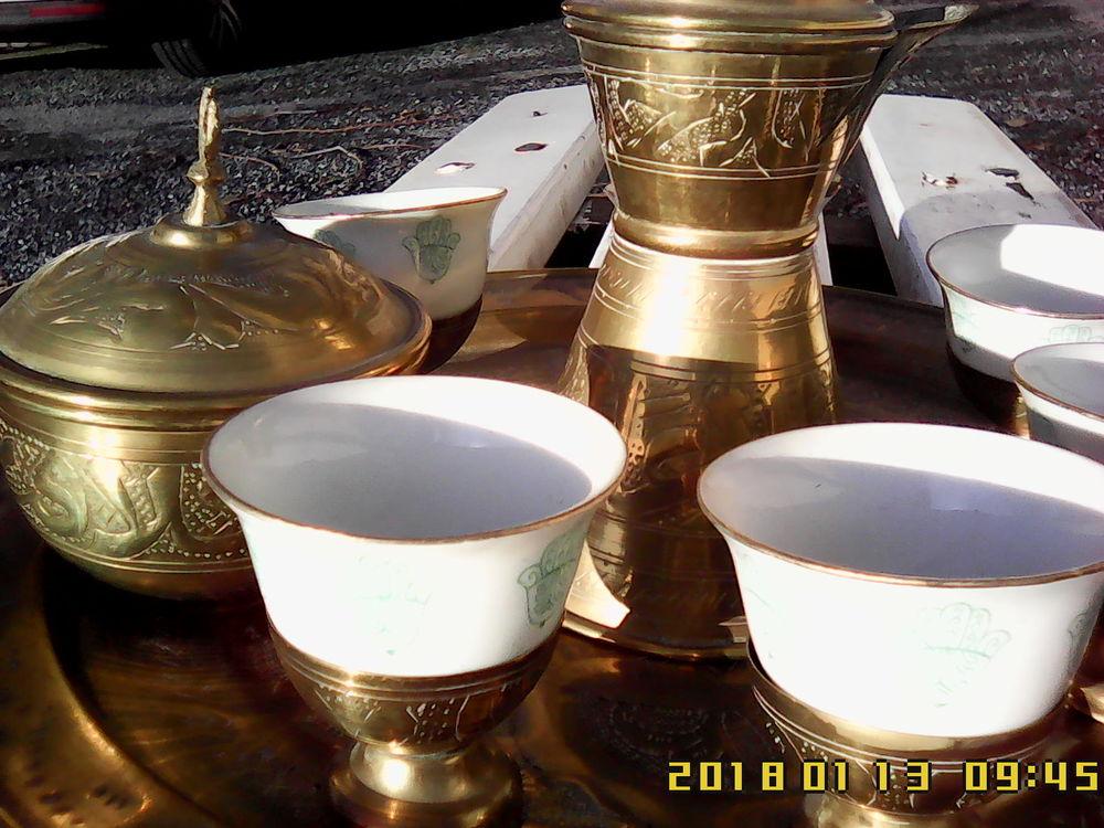 Service à thé - café originaire d'Afrique du Nord en cuivre 0 Noailhac (81)