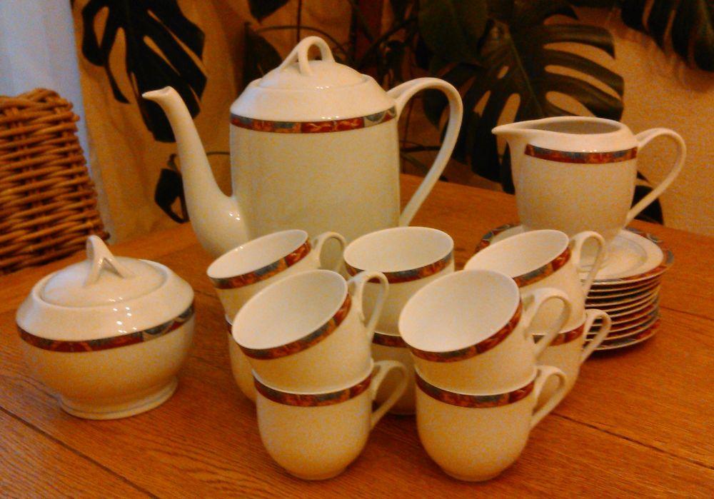 service à café en porcelaine 50 Combs-la-Ville (77)