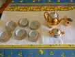 Service à café porcelaine doré