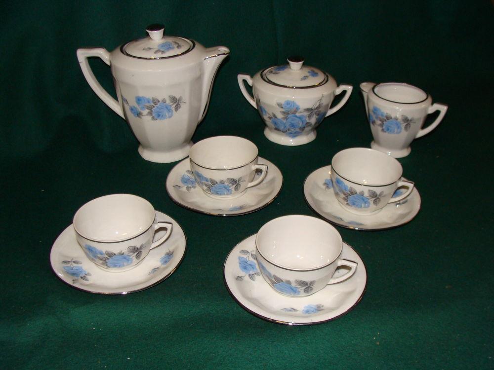 Service à thé/café porcelaine - Vintage 1940/1950 Cuisine
