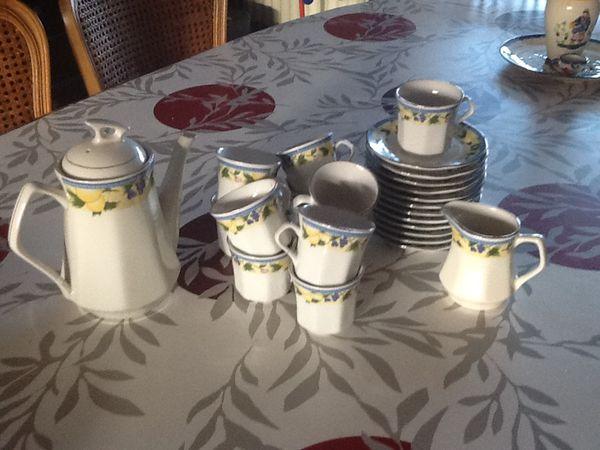 Service à cafe 8 Wasquehal (59)