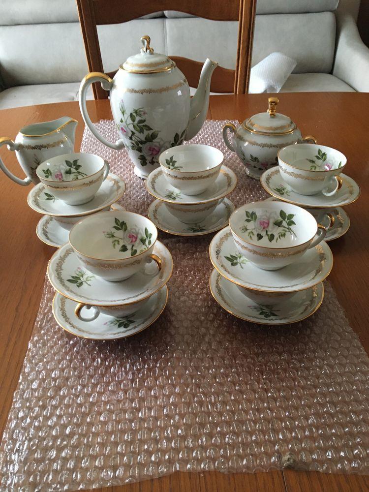 Service complet de vaisselle ancienne de limoge : 200 Couëron (44)