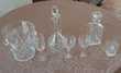 SERVICE CRISTAL LORRAINE 60 VERRES,SEAU A CHAMPAGNE,CARAFES