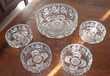 Service à dessert en verre 5 Aix-les-Bains (73)