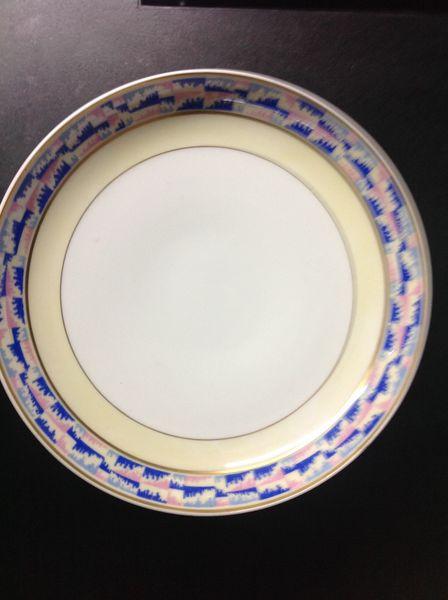 Service environ 1920 porcelaine Bernardaud Cuisine