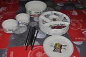 Service à fondue vintage GIEN  40 Perreuil (71)