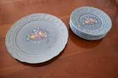 service à fruits en porcelaine de Gien 30 Nevers (58)