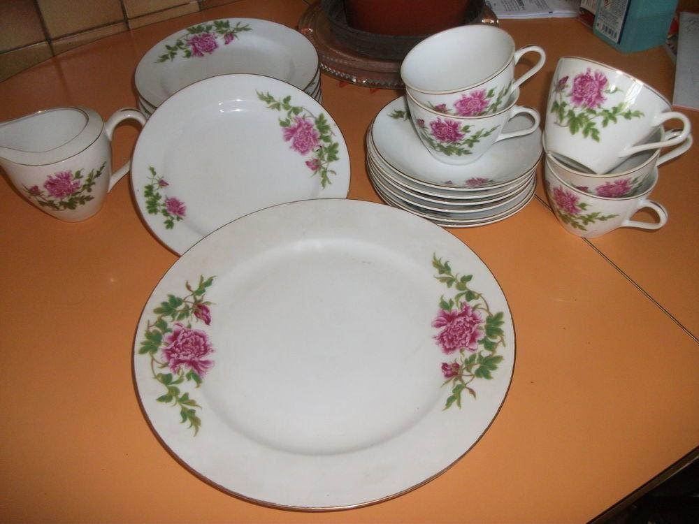 service a thé et gâteau Cuisine