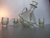 Service a liqueur ancien emaillé (ancien) 20 Tourcoing (59)