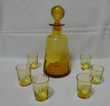 Service à liqueur type Georges Sand XIXe