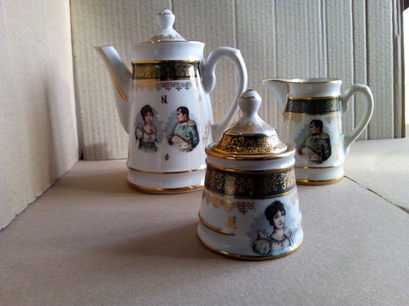 Service Napoléon Joséphine porcelaine 35 Chelles (77)