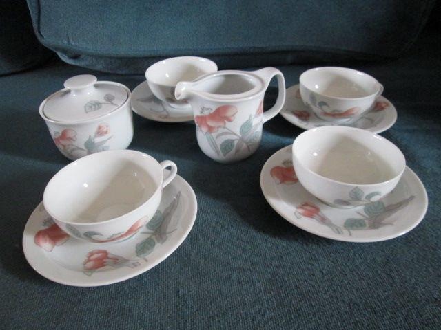 Service à thé 6 pièces porcelaine de Bavière 10 Herblay (95)