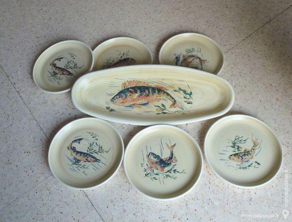 Service à poissons + 6 mini cocottes 20 La Farlède (83)