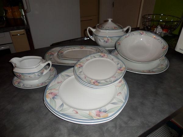 Service en porcelaine de bavière 150 Muret (31)