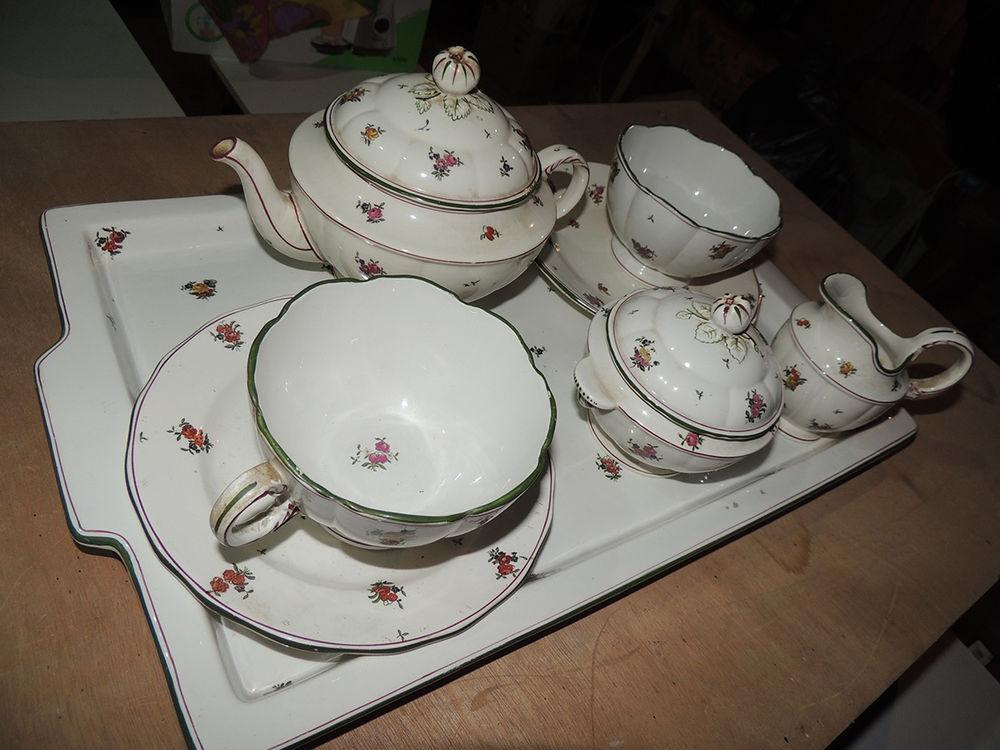 Service à thé Sarreguemines Louis XV 100 Mirepeix (64)