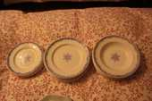 "Service de table ""Assiettes"" 15 Pithiviers (45)"