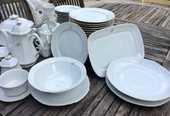 Service de table composé de 70 pièces porcelaine 200 La Valette-du-Var (83)