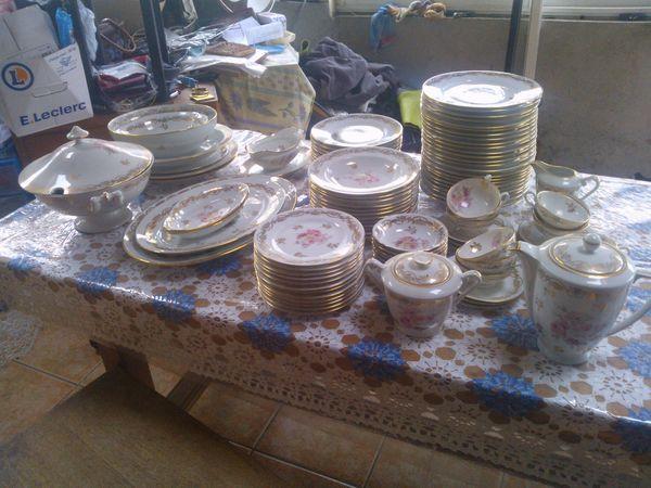 Service de table limoges d 39 occasion - Prix d un service de table en porcelaine de limoges ...