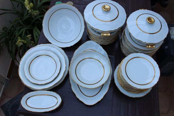 service de table en porcelaine de limoges 250 Marseille 6 (13)