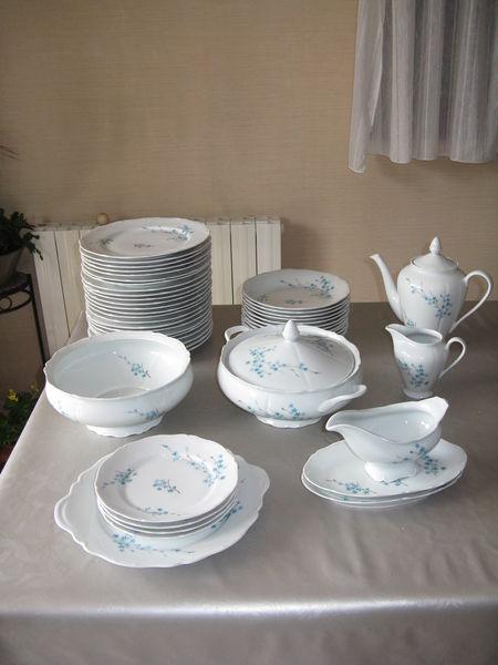 service de table en porcelaine de Sologne 50 Cranves-Sales (74)