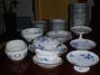 Service de table en porcelaine de Limoges.