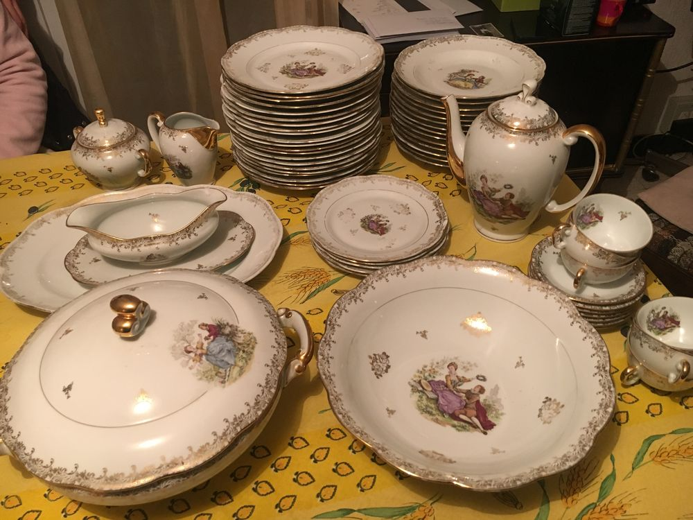 service de table porcelaine Décoration