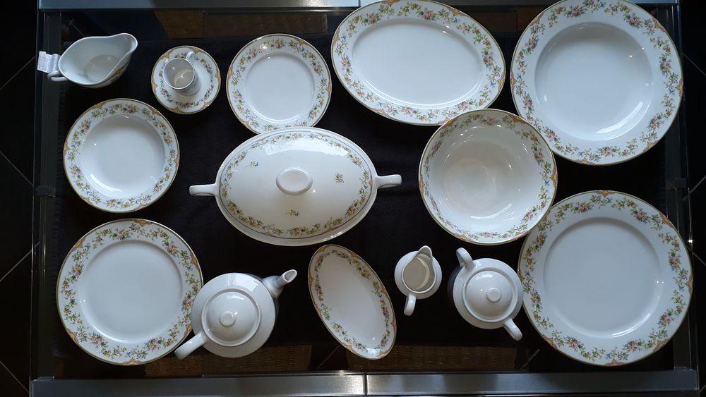 Service De Table En Porcelaine De Couleuvre 250 Arques (62)