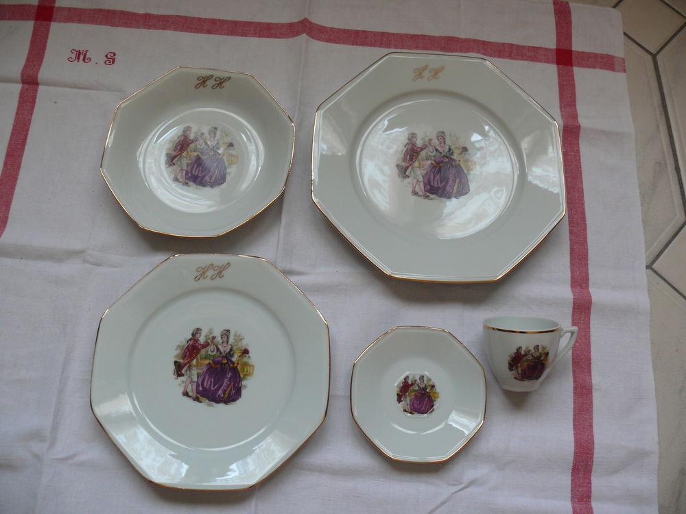 Service de Table en porcelaine de Limoges JB De Saint Eloi 60 Lanvollon (22)