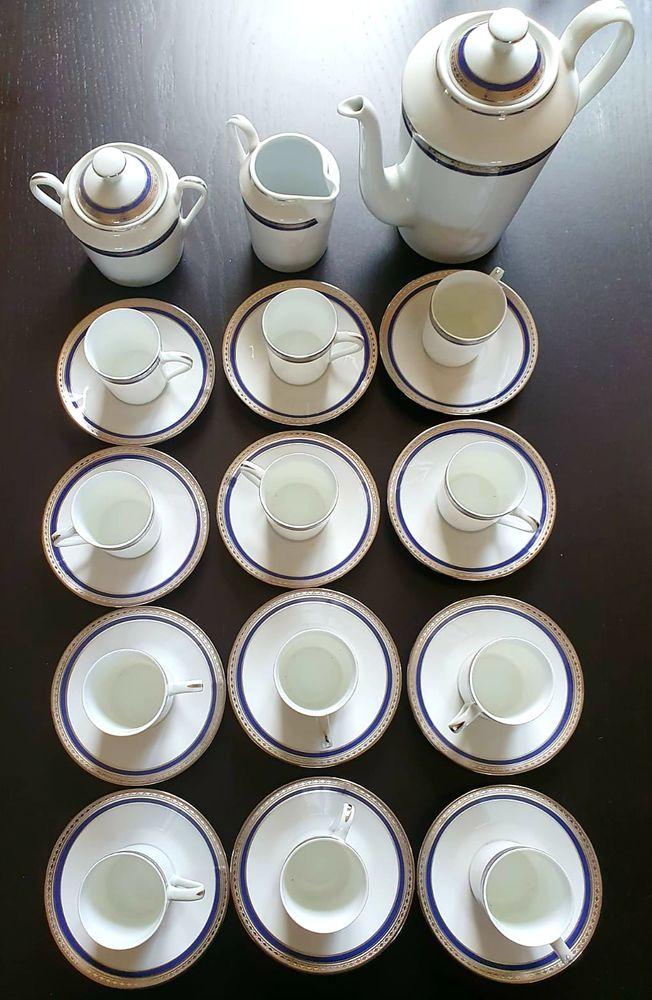 Service de table Porcelaine de Limoges 80 pièces 3500 Breuillet (91)