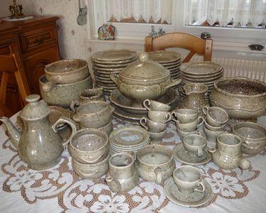 Service en terre de sars  poterie 130 Marly (59)