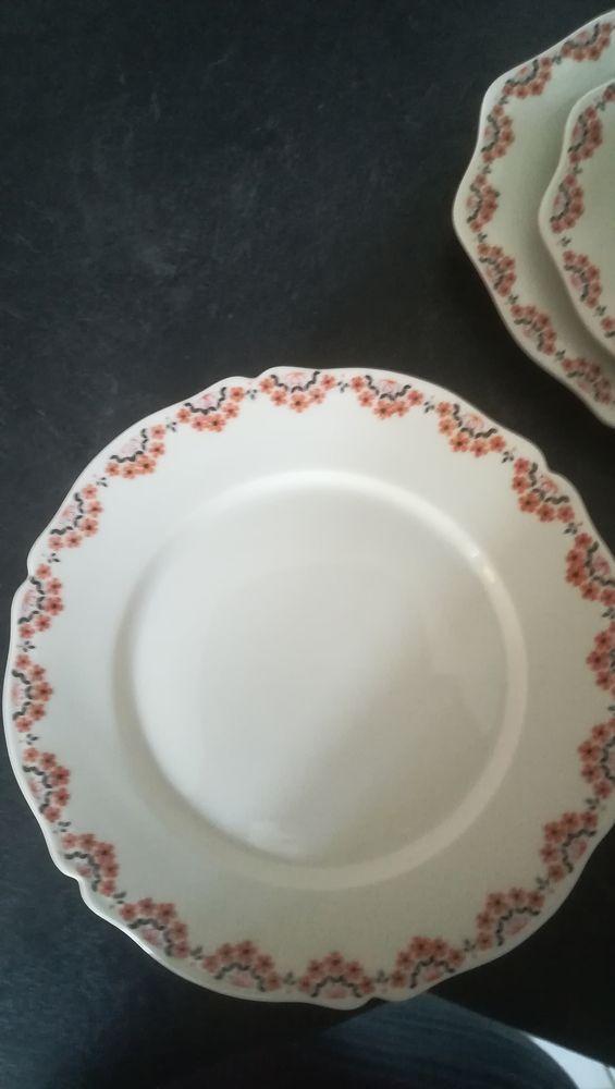 service vaisselle porcelaine Limoges 150 Pellouailles-les-Vignes (49)