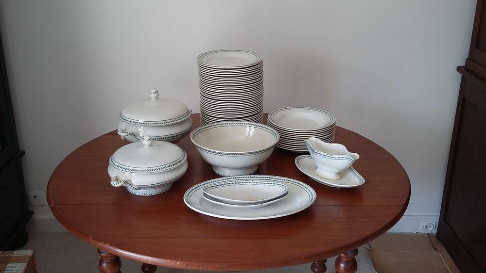 Service de vaisselle porcelaine opaque de Gien-Terre de fer  300 Le Kremlin-Bicêtre (94)