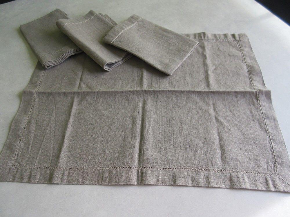 Serviettes de table grises 5 Jury (57)