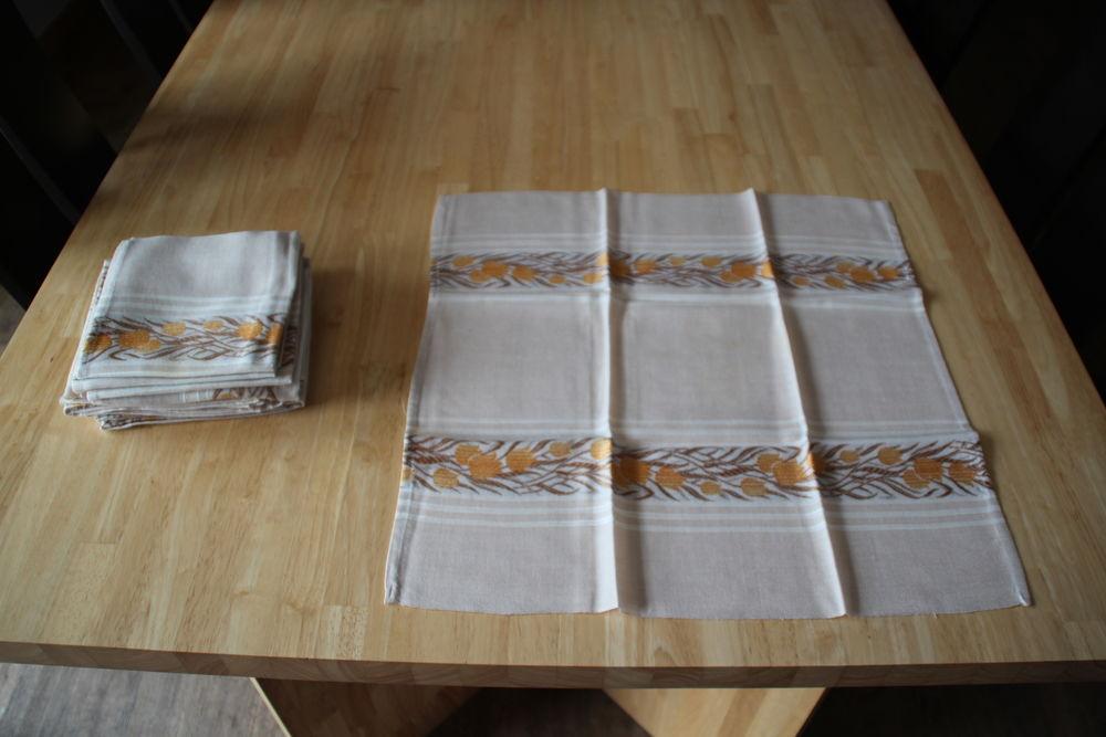 Serviettes de table 10 Amance (70)