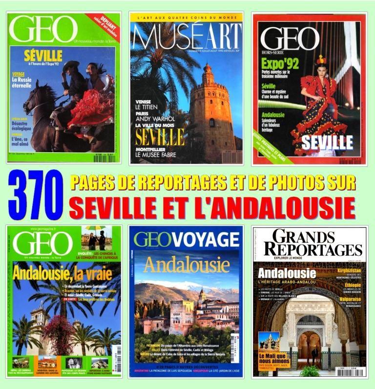SÉVILLE - géo - ANDALOUSIE / prixportcompris  18 Strasbourg (67)