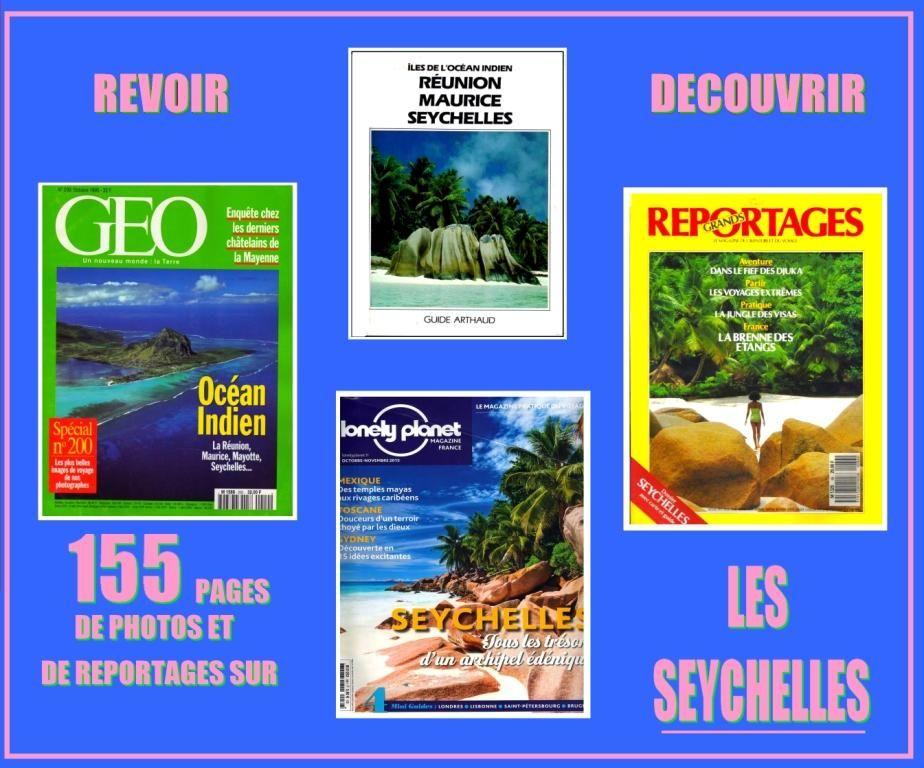 LES SEYCHELLES - revues - OCÉAN INDIEN / prixportcompris  18 Nice (06)