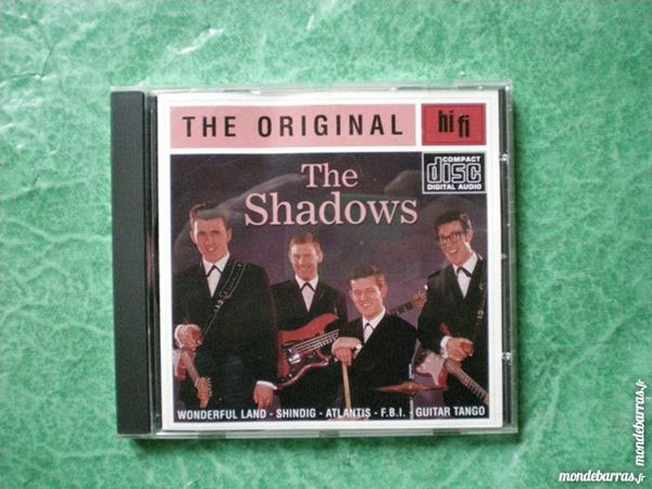 CD the Shadows  « The original » 4 Saleilles (66)