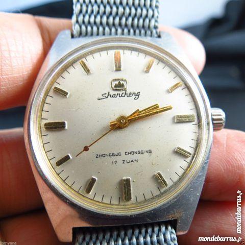 SHANCHENG montre mécanique 17 rubis DIV0477 75 Metz (57)