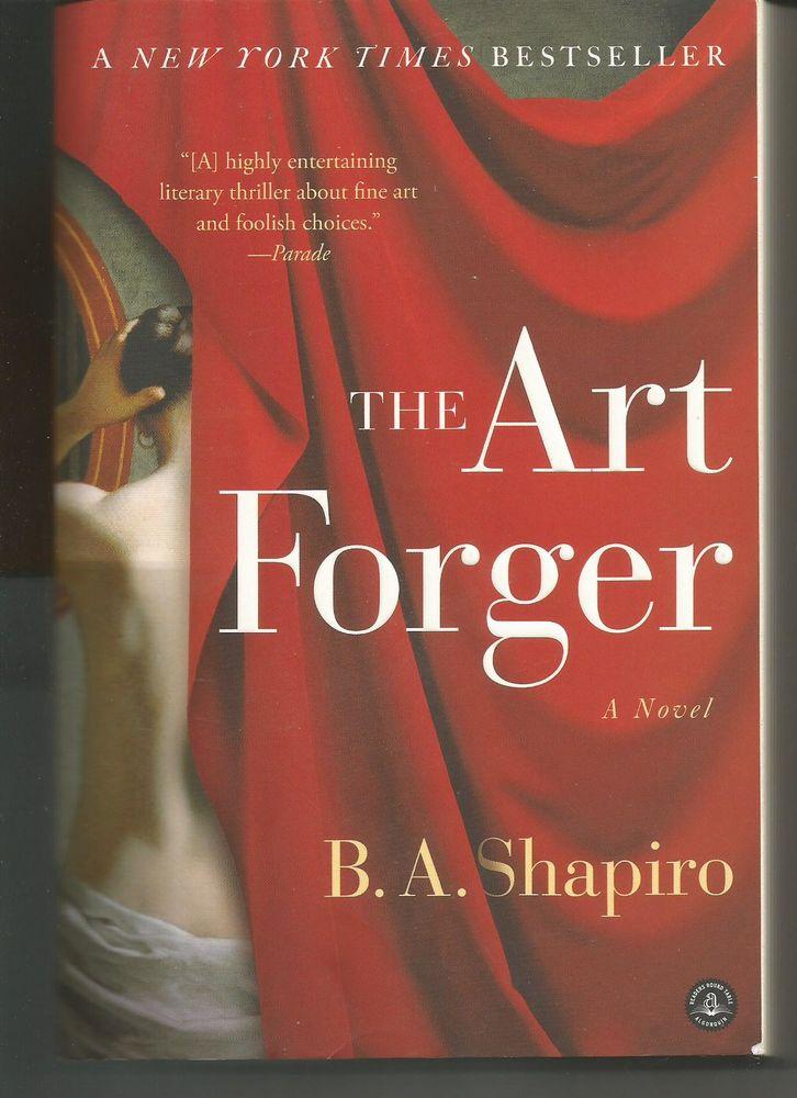 B A SHAPIRO The art forger (en anglais) 8 Montauban (82)