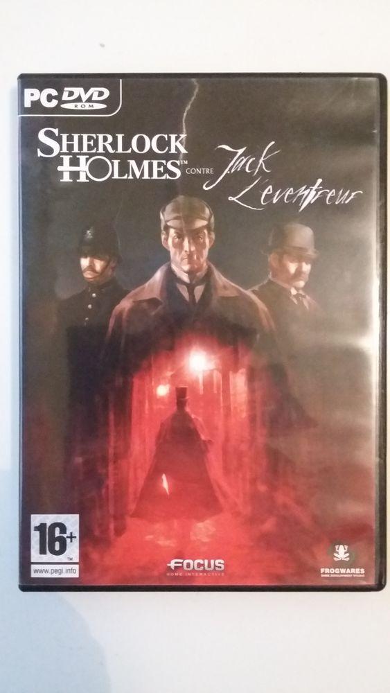 Jeu PC : Sherlock Holmes contre Jack l'éventreur 12 Limoges (87)